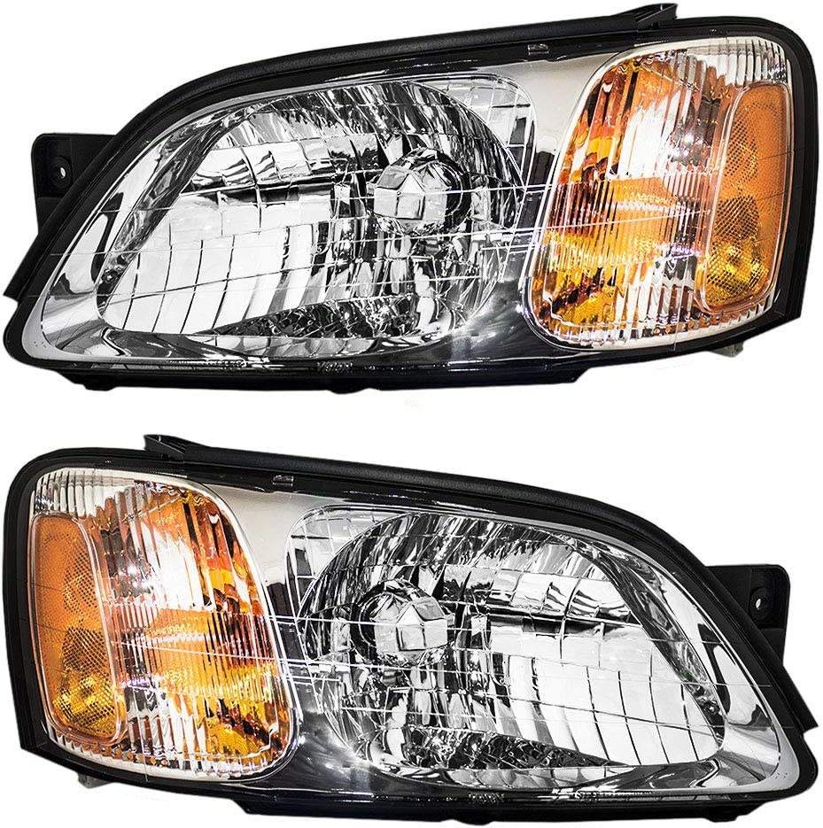 Brock 高級品 Replacement Driver and Headlamps 激安超特価 Passenger Comp Headlights