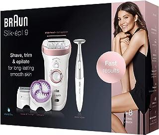 Braun Silk-epil 9 9/980 SkinSpa SensoSmart Epilator Rose Gold with 13 Extras