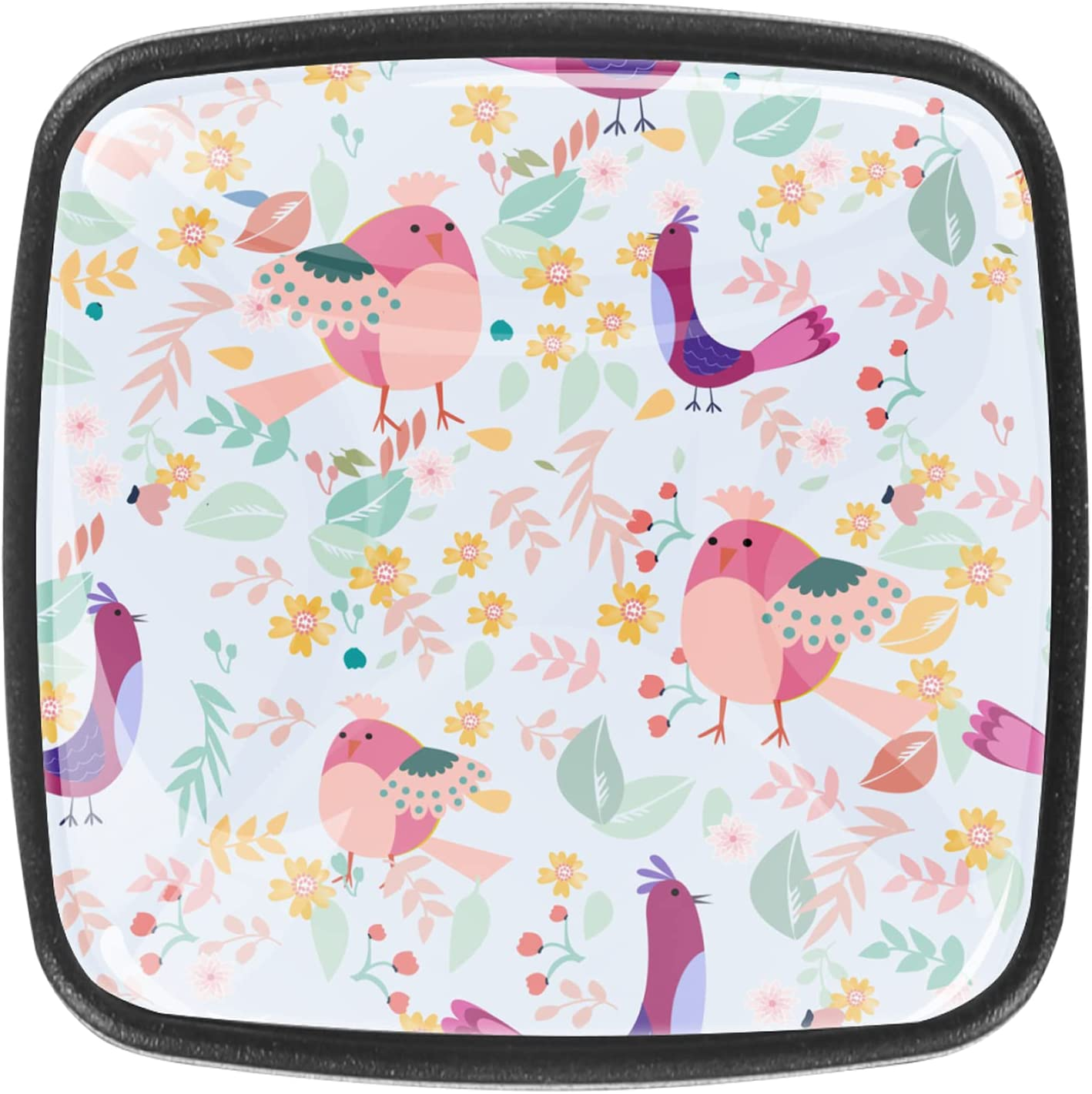 4 Pack Kitchen Cabinet Knobs Bargain sale wholesale Spri Bird Drawers Dresser for