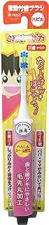 ミニマム 電動付歯ブラシ こどもハピカ ピンク 毛の硬さ:やわらかめ DBK-1P(BP)