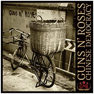 Guns N` Roses - Chinese Democracy Album Cover Canvas Poster Bedroom Decor Sports Landscape Office Room Decor Gift 12×12inc...