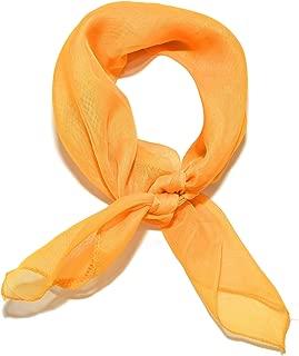 mustard yellow hair scarf