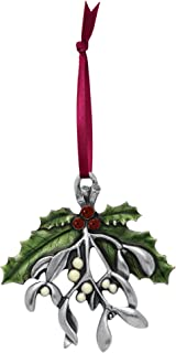 DANFORTH - Mistletoe and Holly 2010 Annual Pewter Ornament