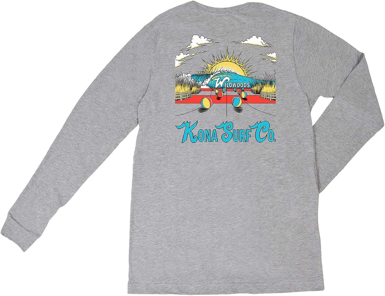 KONA SURF CO. Wildwood Daze Boys Long Sleeve Shirt