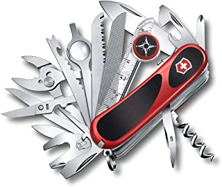 Victorinox Swiss Army EvoGrip S54 Pocket Knife, Red, 85mm