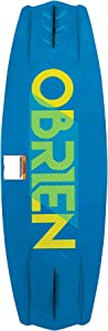 O'Brien Valhalla 138 Centimeter Boating Lake Water Sport Wakeboard Package & Clutch Boot 7-11 Bindings