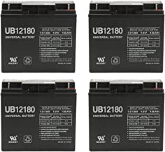 Universal Power Group 12V 18AH SLA Replacement Battery for Liebert AP-130/AP23 3kVA UPS - 4 Pack