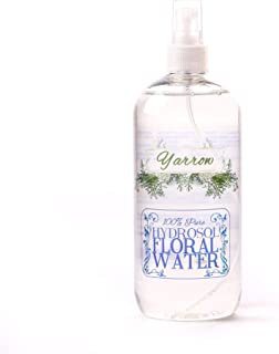 Yarrow Hydrosol Floral Water With Spray Cap - 1 Litre