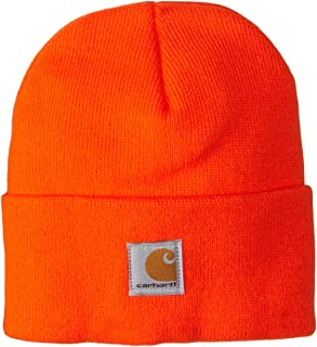 Youth Acrylic Watch Hat, Brite Orange, Toddler