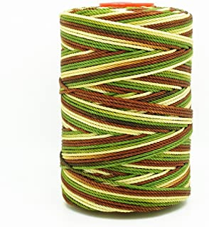 CAMOUFLAGE 1.5mm 100% Nylon Twisted Cord Thread Macrame Beading Crochet Hand Crafts Artisan