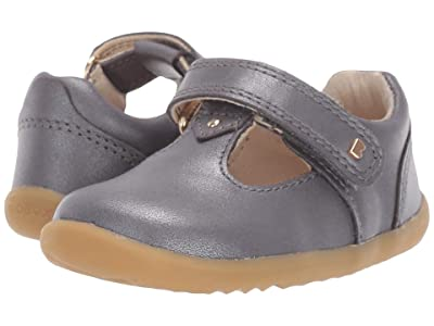 Bobux Kids Step Up Louise (Infant/Toddler) (Charcoal Shimmer) Girls Shoes