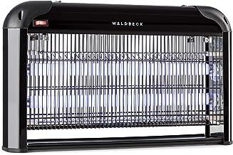 Waldbeck Mosquito Ex 5000 - Désinsectiseur électrique, 38W, Lumière UV, 150m², Noir