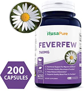Best nature's way feverfew leaves 380 mg 180 capsules Reviews