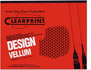 Clearprint Fade-Out Design and Sketch Vellum - Isometric 11 in. x 17 in.