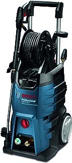 Bosch Professional GHP 5-75 X - Hidrolimpiadora de alta presión (185 Bares, 570 l/h, enrollador manguera, 2 lanzas)