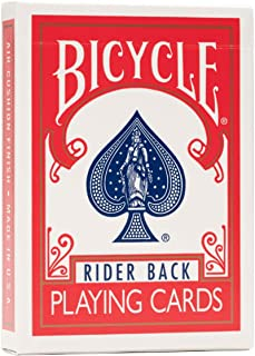 Bicycle Rider Back Playing Cards - Red