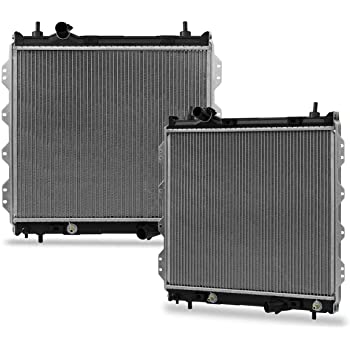CU2298 Radiator Compatible with PT Cruiser 2001-2010 L4 2.4L(1 Thick)