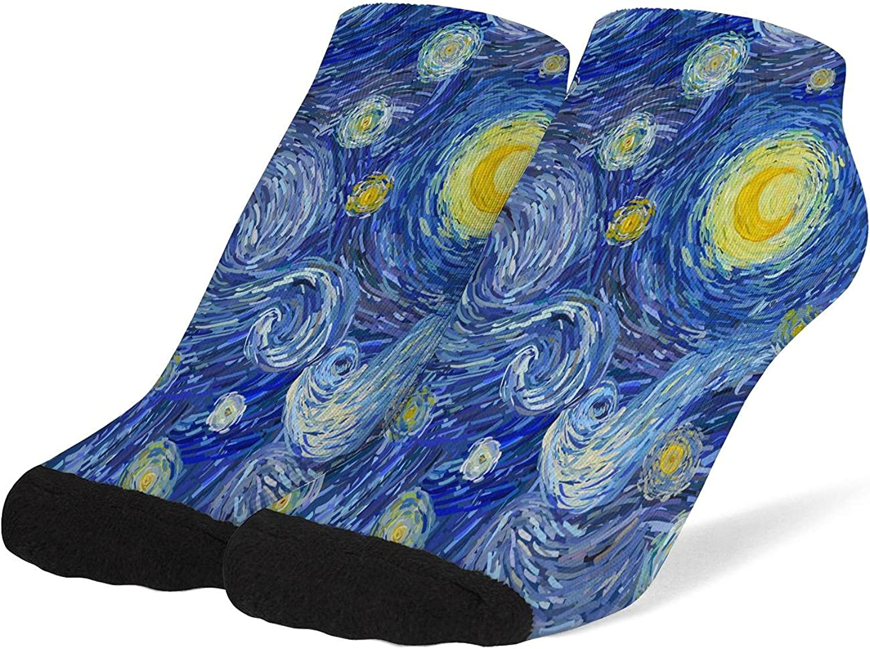 Womens Ankle Socks Soft Breathable Low Cut Athletic Tab Socks Cute No Show Socks