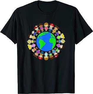 Happy Earth Day T shirt Gift,Children Around The World Shirt