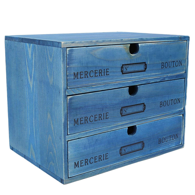 Wooden Rapid rise Desktop Storage Box f List price Jewelry Home Organizer