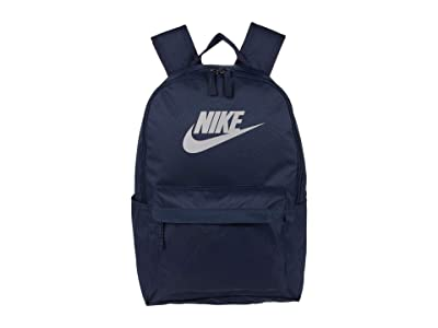 Nike Heritage Backpack 2.0 (Obsidian/Obsidian/Atmosphere Grey) Backpack Bags