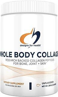 طراحی برای سلامتی - کلاژن کل بدن - Peptide کلاژن خالص، 390 گرم