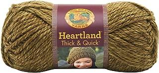 Lion Brand Yarn 137-174 Heartland Thick and Quick Yarn, Joshua Tree