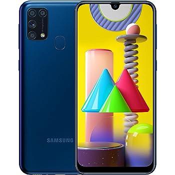 "Samsung Galaxy M31 - Smartphone Dual SIM, Pantalla de 6.4"" sAMOLED FHD+, Cámara 64 MP, 6 GB RAM, 64 GB ROM Ampliables, Batería 6000 mAh, Android, Versión Española, Color Azul"