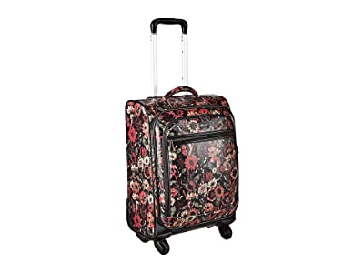 Sakroots Sak Roots Carry On Suitcase (Graphite in Bloom) Carry on Luggage