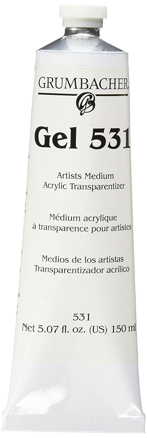 Grumbacher Acrylic Transparentizer Gel 531, 5.07 oz. Tube by Grumbacher