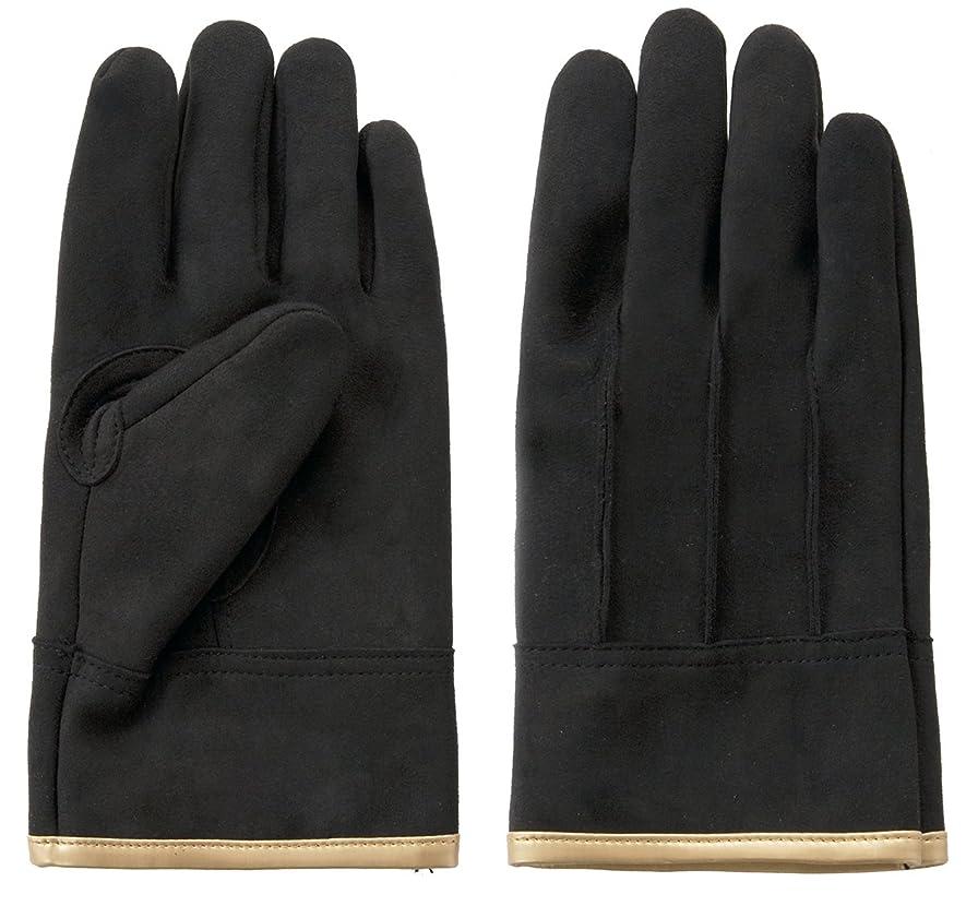 富士グローブ MD-6 メダリスト 極厚人工皮革背縫手袋 10双組 (Lサイズ)