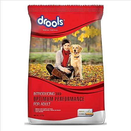 Drools Optimum Performance Adult Dog Food,10kg