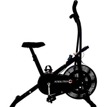A1 Solution || A101 || Exercise Home Gym Cycle || Stationary or Dual Moving Handles || Adjustable Cushioned Seat ||Cardio || Air Bike || Made in India || The A1 Solution to Your Health