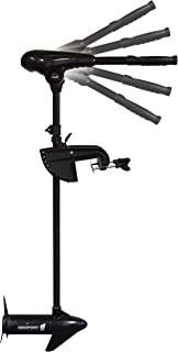 Newport Vessels X-Series 55lb Thrust Transom Mounted Saltwater Electric Trolling Motor w/LED Battery Indicator (36