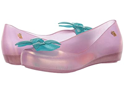 Mini Melissa Mel Ultragirl + Little Mermaid INF (Little Kid/Big Kid) (Pink/Blue) Girl