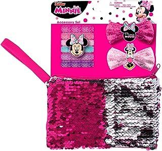 Mickey Mouse 63764 Disney Minnie Accessoires met paillettenzakje, meerkleurig