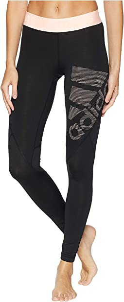 Alphaskin Sport Long Logo Tights