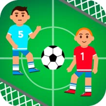 Funny Realistic Soccer Battle: Cartoon Athletes Tournament Game for Boys And Girls