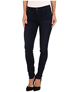 Slim Illusion LUXE Midrise Skinny w/ Contour Waistband in Rich Blue