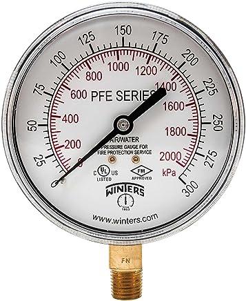 Amazon.com: 300 PSI - Pressure Gauges / Pressure & Vacuum ...