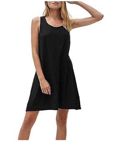 Michael Stars Becca Vintage Jersey Tank Dress w/ Gathered Back Women