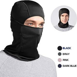 Balaclava Face Mask, Windproof Ski Mask, Thin Breathable Motorcycle Face Mask, Helmet Liner Full Face Cover Mask for Skiing, Motorcycling, Cycling (Fits Under Helmet)