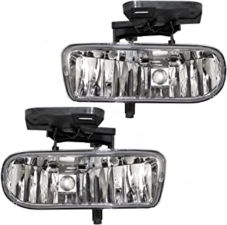 2001 gmc yukon fog lights