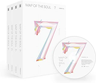 Bighit BTS Bangtan Boys - MAP of The Soul : 7 [3 ver] Album+Official Folded Poster+Extra photocard+KPOP Idol Mask (3 ver)