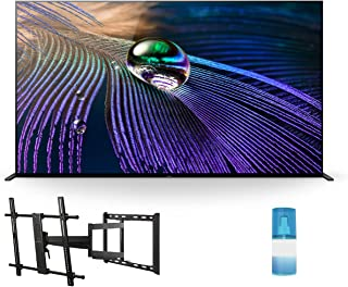 """Sony XR55A90J 55"""" A90J Series HD OLED 4K Smart TV with a Walts TV Large/Extra Large Full Motion Mount for 43""""-90"""" Compatib..."""