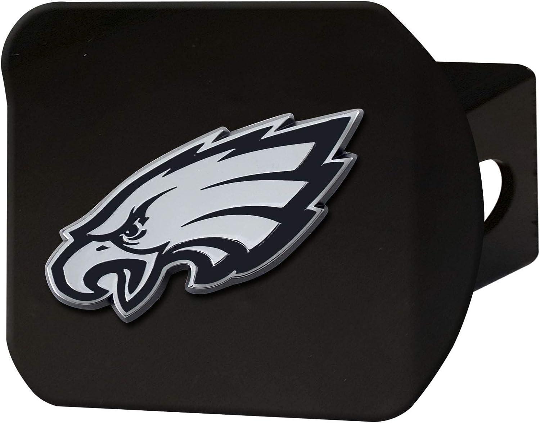 FANMATS 21573 NFL Philadelphia Eagles Metal Hitch Cover, Black,