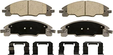 Wagner ThermoQuiet QC1339 Ceramic Disc Pad Set With Installation Hardware, Front