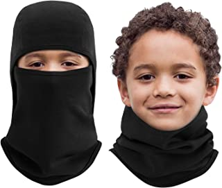 Kids Balaclava Windproof Ski Face Warmer for Cold Weather...
