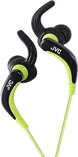 Jvc Haetx30b Sport Earphones Washable Black/Green