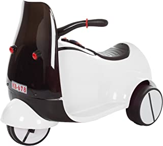 Ride on Toy, 3 Wheel Motorcycle Euro Trike for Kids by Lil' Rider - Battery Powered Ride-on Toy for Boys and Girls, 2-5 Years Old - White